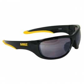 DEWALT Dominator - Silver Mirror Lens Safety Glasses Full Frame Style Black Color - 12 Pairs / Box