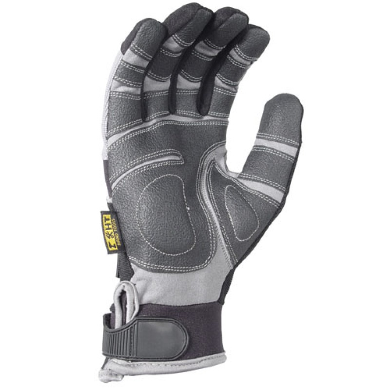 DeWalt DPG210 Heavy Utility PVC Padded Palm Gloves - PPE - Enviro Safety Products, envirosafetyproducts.com