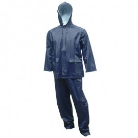 Tingley Tuff-Enuff Plus Suit Blue 2 Pc Jacket Zip Front Snap Fly Front Pants Retail Packed