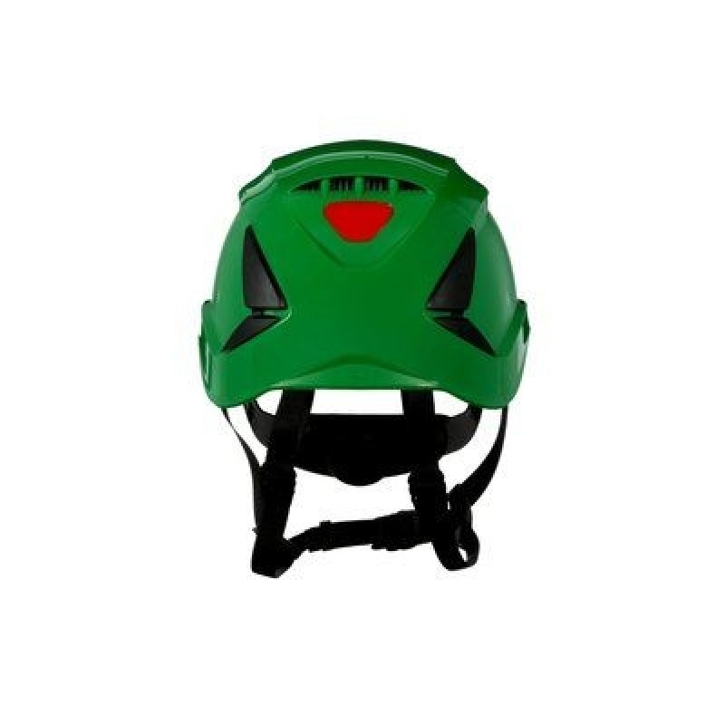 3M™ SecureFit™ Safety Helmet, X5004V-ANSI,  Green, vented (Case of 10)