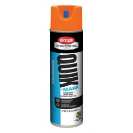 Krylon QUIK MARK Water based Inverted Marking Paints 17 oz. Orange 12 Cans