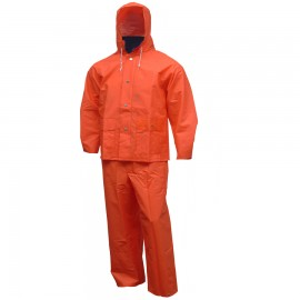 Tingley S63219.3X Comfort-Tuff Suit 2 Pc Jacket with Hood & Fly Front Overalls