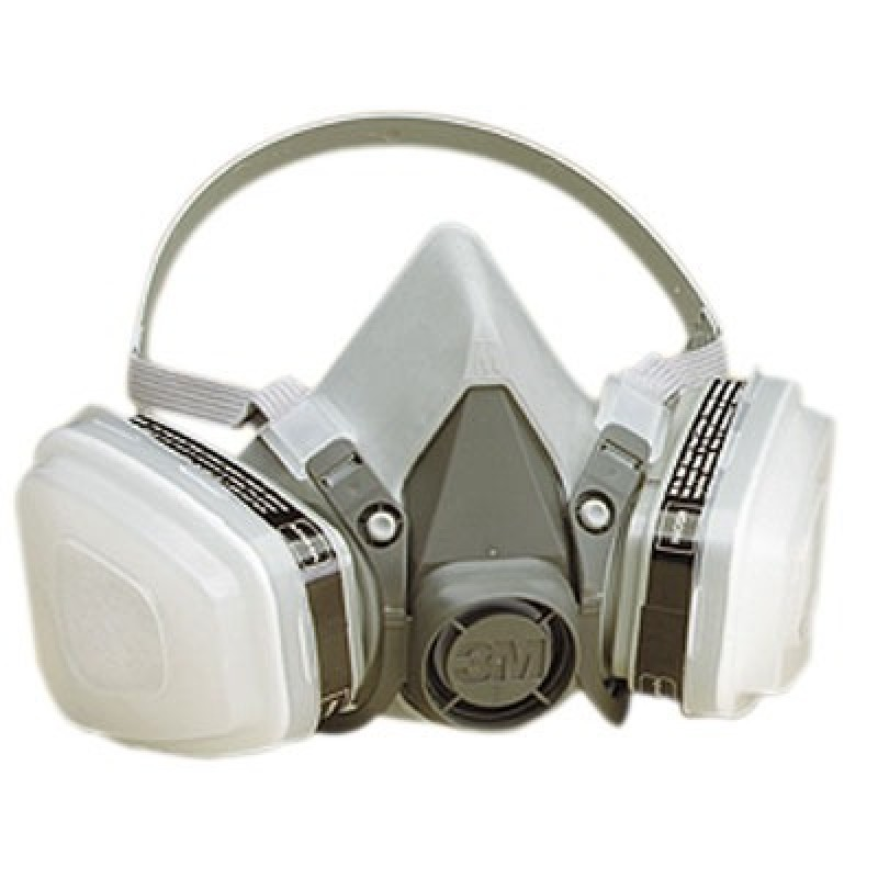 3m 6000 series half mask paint spray pesticide respirator