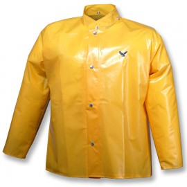 Tingley J22207.MD Iron Eagle Jacket Gold Storm Fly Front Hood Snaps