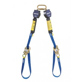 3M™ DBI-SALA® Nano-Lok™ Tie-Back Twin-Leg Quick Connect Self Retracting Lifeline, Web 3101373