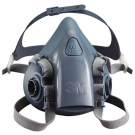 3M™ Half Facepiece Reusable Respirator 7501/37081(AAD) Small