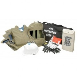 44 Cal Arc Flash Protection Clothing Kit, ATPV Rating, 4 Hazard Risk Category (HRC)