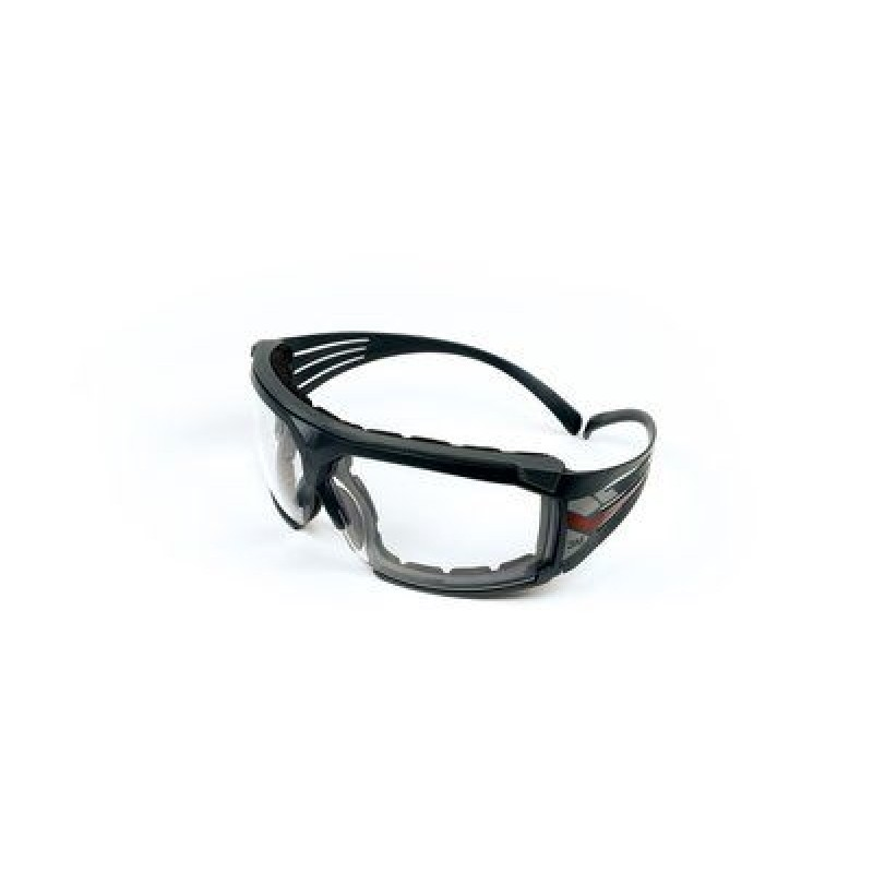 3M™ SecureFit™ Protective Eyewear SF601SGAF-FM Foam, Clear Scotchgard™ Anti-fog Lens (Case of 20)