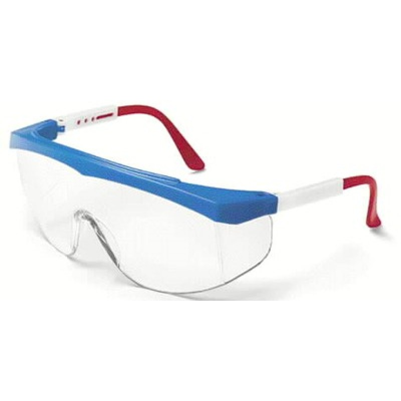 MCR Stratos Safety Glasses Clear Lens 1/DZ