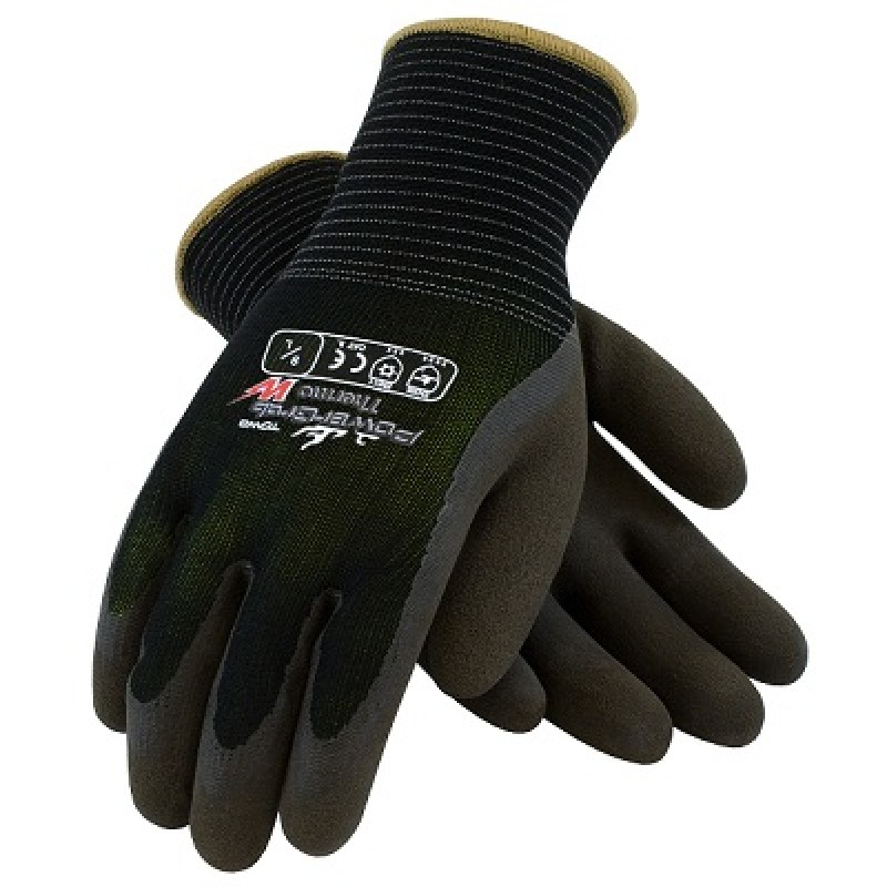 PIP PowerGrab Thermo 14-1430 Winter Gloves, Black (1 PR)