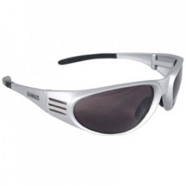 DeWalt Ventilator Silver Safety Glasses-Smoke Lens 1/ Pair