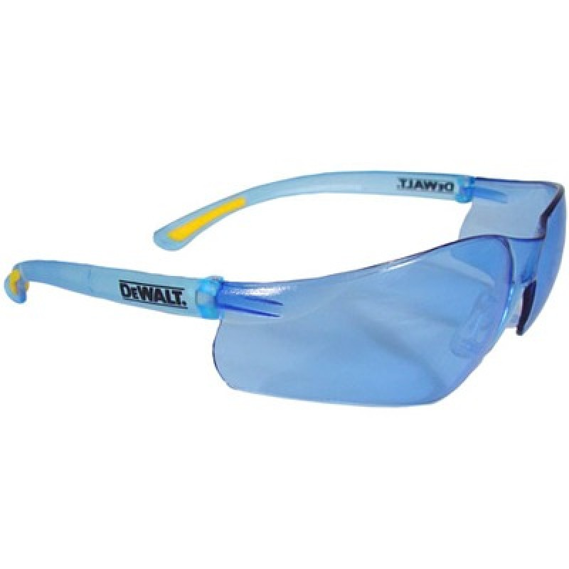 DeWalt Contractor Pro Safety Glasses-Light Blue Lens 1 Pair