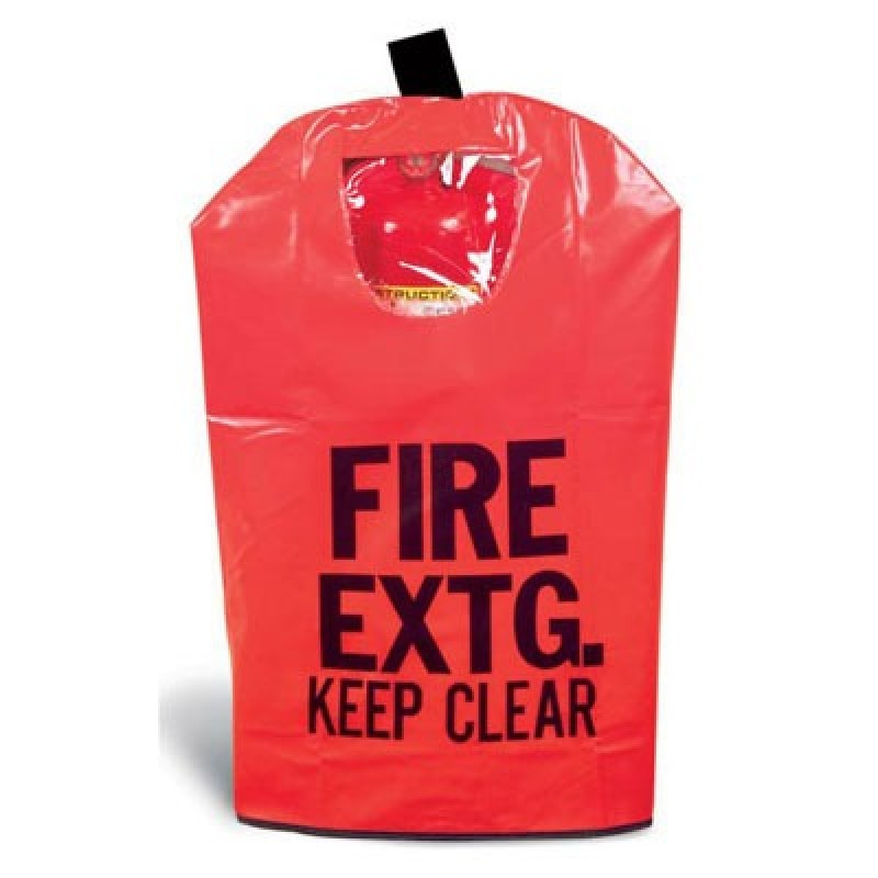 Brooks Fire Extinguisher Cover with Window