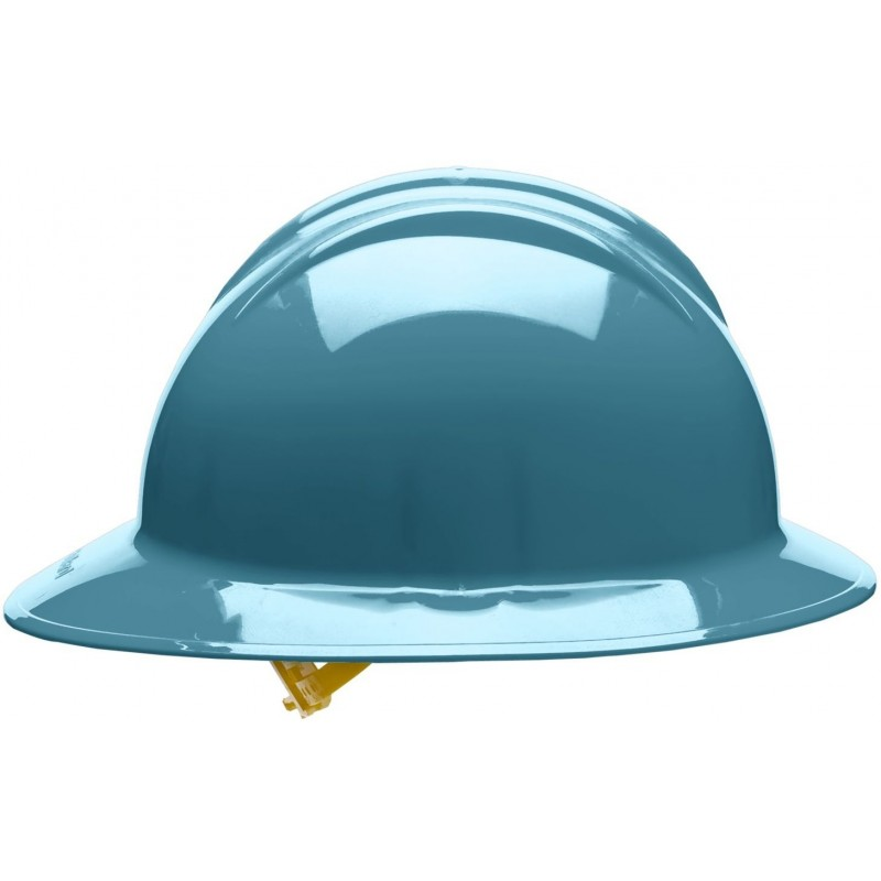 Bullard C35 35SLR 6pt. Ratchet Classic Extra Large Full Brim w/Accessory Slots Slate Blue Hard Hat 20/Case