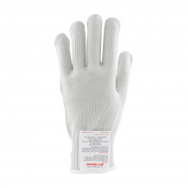 PIP 22-600M Kut Gard Seamless Knit PolyKor Blended Antimicrobial Glove Heavy Weight Medium 24 EA