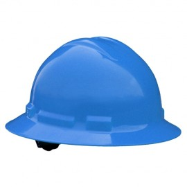 Radians Quartz 4 Point Pinlock Suspension Full Brim Hard Hats  Blue Color  (1 Each)
