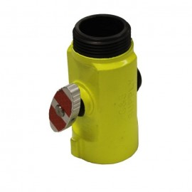 C & S Supply T-Valve, Hi-Viz Lime Color