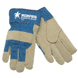 MCR Snort'N Boar Pigskin Palm Work Gloves Tan Color 12 Pairs