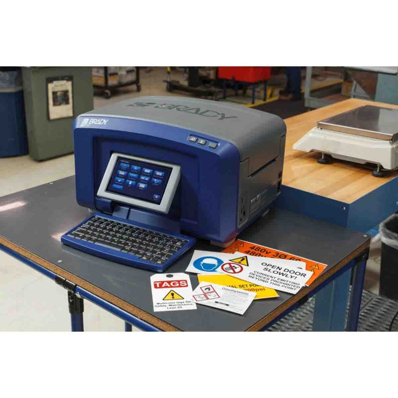 Brady BBP35 Multi-Color Sign and Label Printer with Color Touch Screen