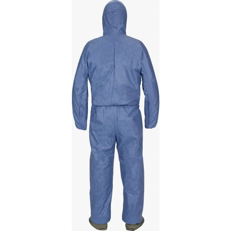 Lakeland MVP414 MicroMax VP Coverall - Hood, Attached Boots with Elastic Wrist