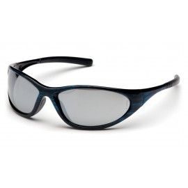Pyramex Zone II Blue Wood Frame/Silver Mirror Lens (1 Box of 12)