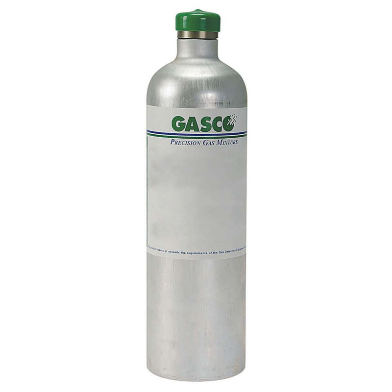 34 Liter Single Gas (100 PPM Isobutylene) Calibration Gas, Air Balance