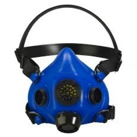 Honeywell RU8500 RU85001L Half Mask, Blue, Large 12/Case