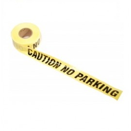 Barricade Tape - CAUTION NO PARKING
