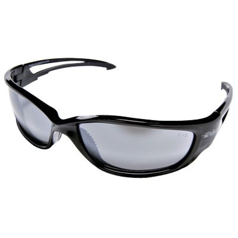 Edge Kazbek X-Large Safety Glasses - Silver Mirror Lens