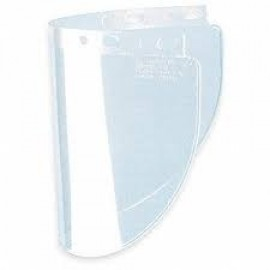 Honeywell 4178CL Fibre-Metal® Impact-Resistant Replacement Windows Wide Clear 12/BX