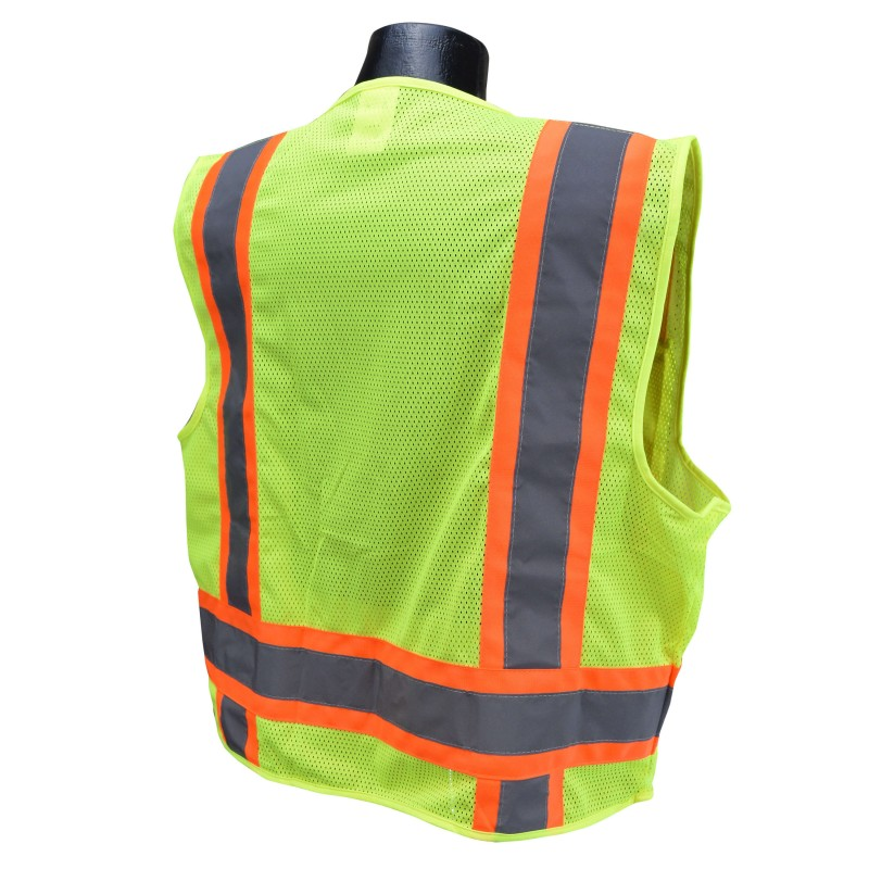Radians SV6-2 Safety Vest - Class 2 - Two Tone Surveyor - Mesh Front Mesh Back (1 EA)