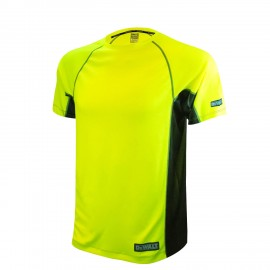 Radians DEWALT Non Rated Two Tone Performance Moisture Wicking Hi Vis Short Sleeve T Shirt  1 Each