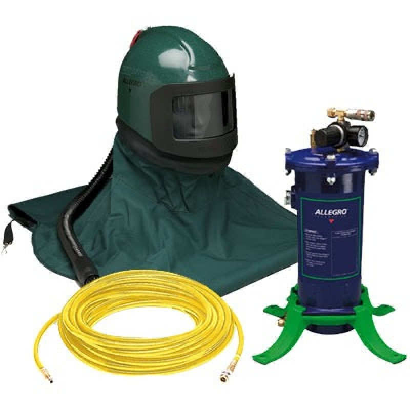 Allegro K3000 High Pressure Abrasive Blasting 1-Worker Kit