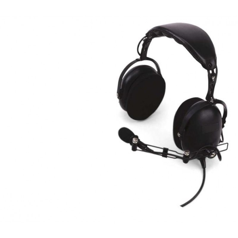 Kenwood KHS-10 Headset with Boom Microphone and In-Line PTT