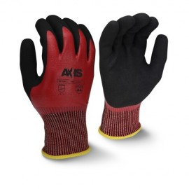 Radians RWG556 AXIS™ Cut Protection Level A4 Sandy Nitrile Coated Glove