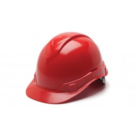 Pyramex HP46120 Ridgeline Hard Hat  Red Color - 16 / CS