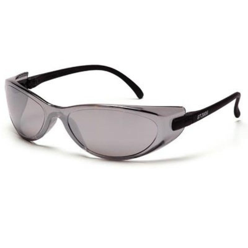 Pyramex GT 2000 Safety Glass-Silver Mirror Lens 12/Box