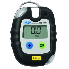 Draeger 4543958 Pac® 3500 H2S Single Gas Monitor