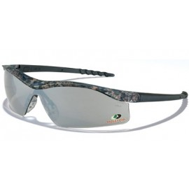 Dallas Safety Glass-MossyOak, SlvrMirror