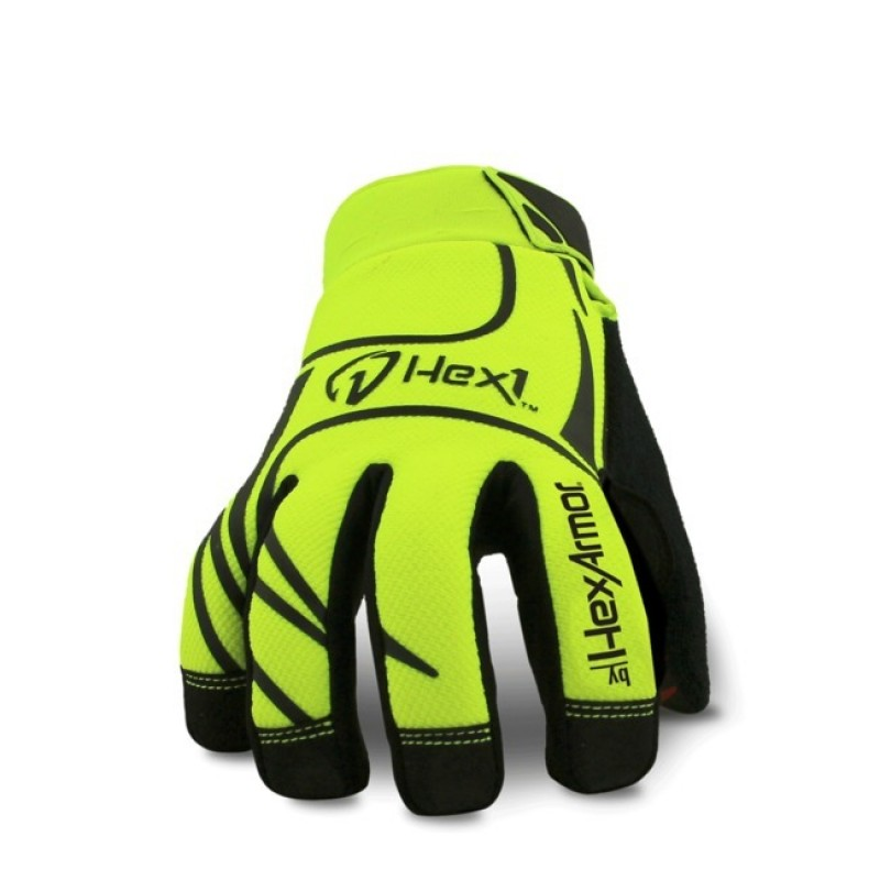 HexArmor Hex1 2123 Artic  Work Gloves Yellow Color - 1 Pair