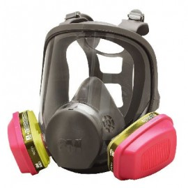3M 6000 Series Full Face Multi-Purpose Respirator (with Filters)