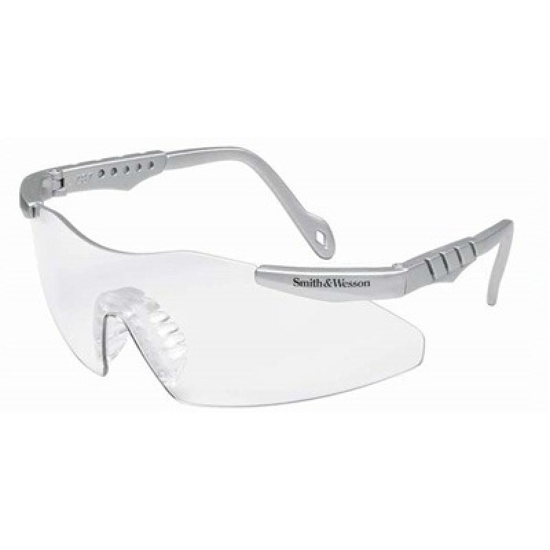 Jackson Safety Smith Wesson Magnum Safety Glasses with Gray Frame and Indoor/Outdoor Lens 12 Pairs