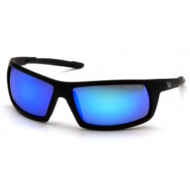 Venture Gear Tactical - Stonewall - Black Frame/Ice Blue Mirror Anti-Fog Lens Polycarbonate Safety Glasses - 1 / EA