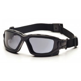 Pyramex  IForce Slim  Black StrapTemples/Gray AntiFog Lens  Safety Glasses  12/BX