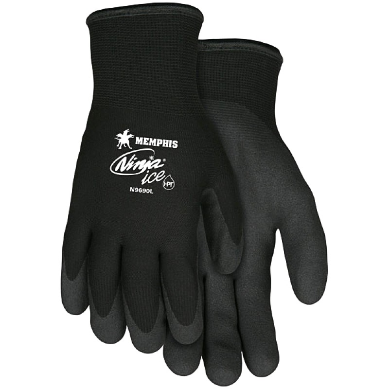 MCR Ninja Ice N9690 Winter Gloves, Black (1 PR)