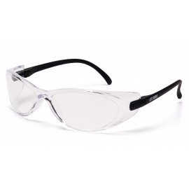 Pyramex  GT2000  Black Temples/Clear Lens  Safety Glasses  12/BX