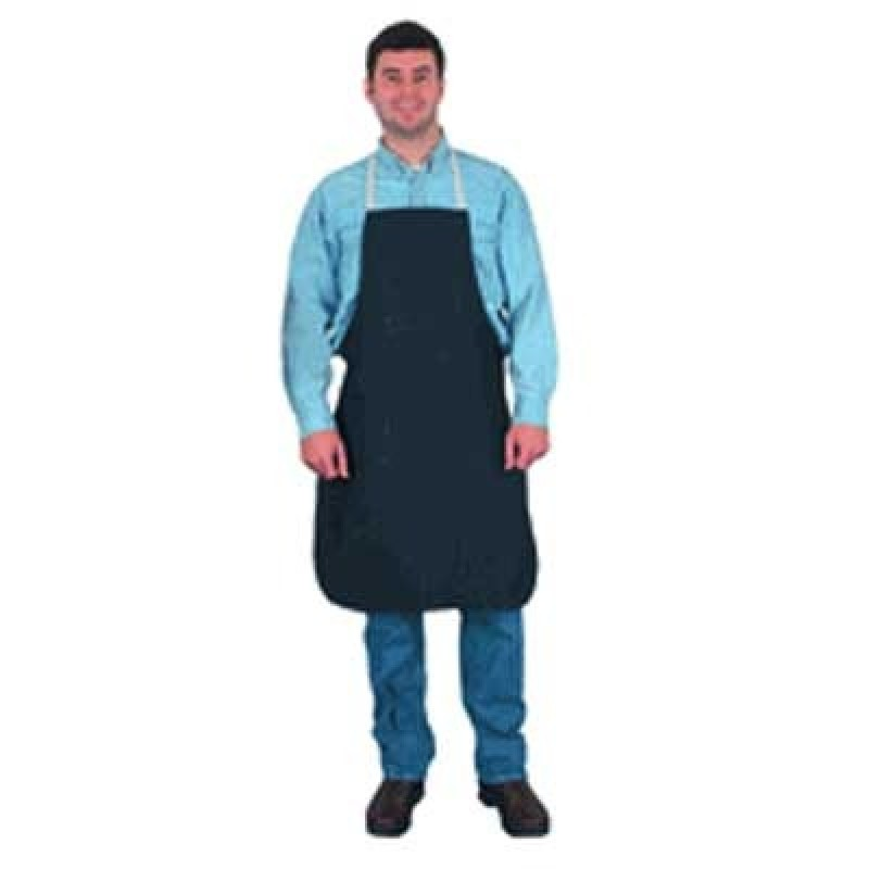 Denim Apron with 2 Pockets