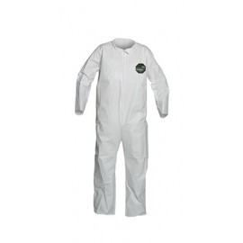DuPont™ ProShield 50 NB120S Microporous Film Coveralls, White 1/EA