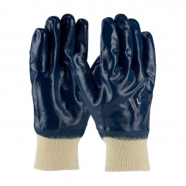 PIP 56-3152/M PIP Nitrile Dipped Glove with Jersey Liner and Smooth Finish on Full Hand Knitwrist Medium 6 DZ