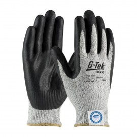 PIP 19-D334/S G-Tek Seamless Knit Dyneema Diamond Blended Glove with Nitrile Coated Foam Grip on Palm & Fingers Small 6 DZ